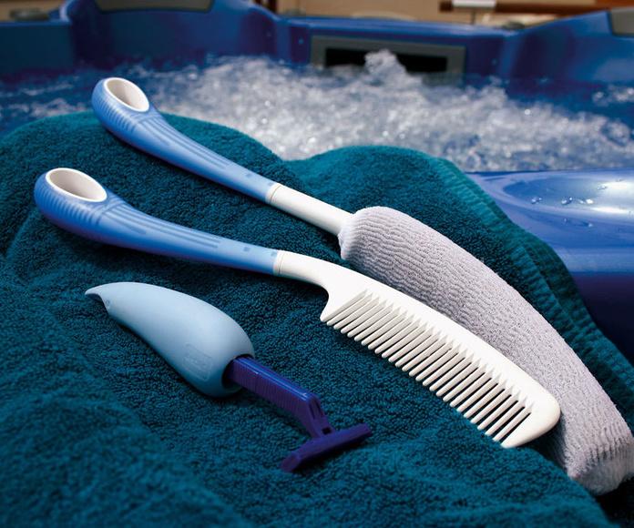 Utensilios para el cuidado y la higiene corporal