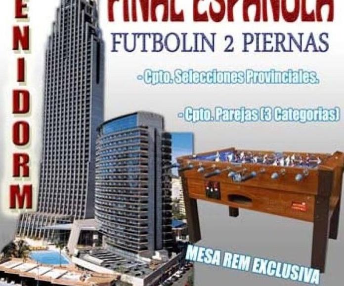Final española de futbolin