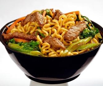 Uramaki masago: Menús de Kiniro Sushi