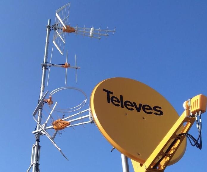Instalación y mantenimiento de antenas Plaza de Castilla