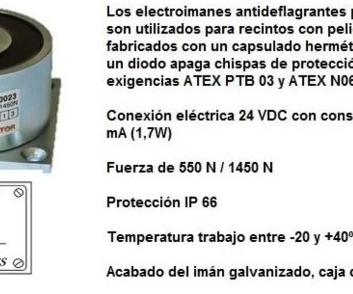 ELECTROIMAN ANTIDEFLAGRANTE