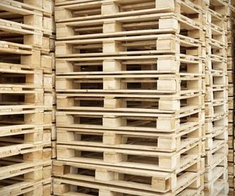 Pequeños embalajes reciclados: Servicios de Palets Artola