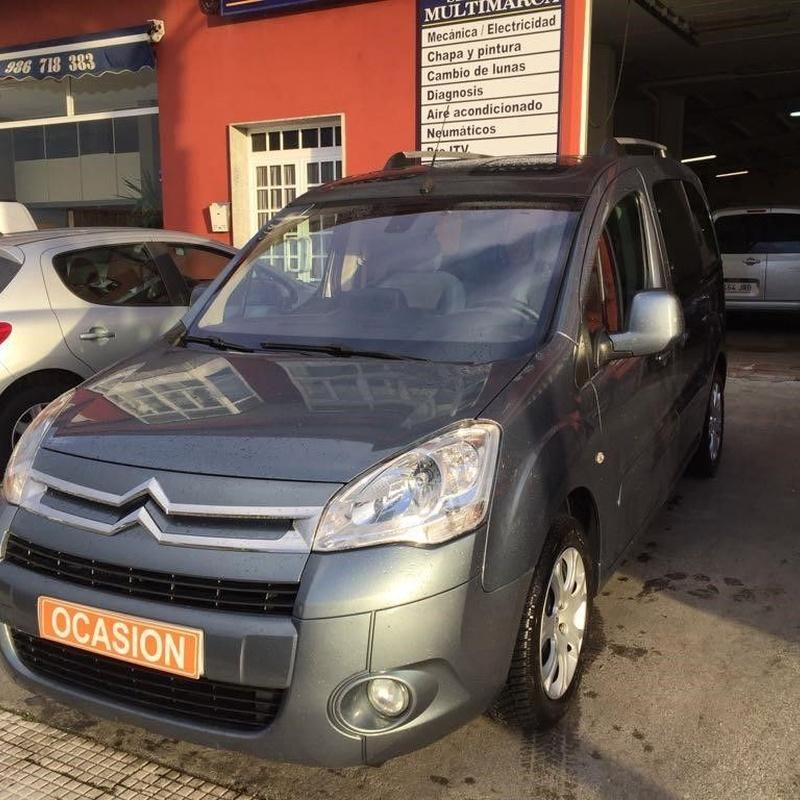 Citroën Berlingo 1.6HDI 110CV Multiespace:  de Ocasión A Lagoa