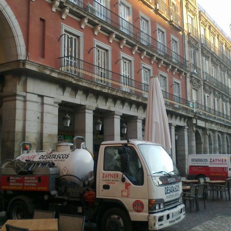 Limpieza y mantenimiento de alcantarillado: Servicios  de Zayner
