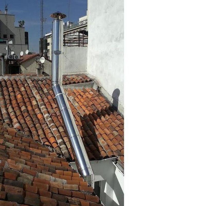Instalación de chimeneas: Servicios de Cima