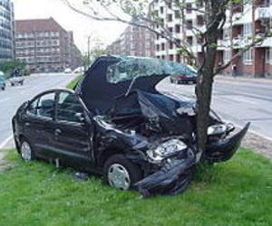 Indemnización tras un accidente de tráfico