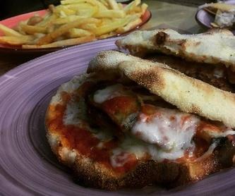 Para picar: Carta de Restaurante Pizzería Metrópolis