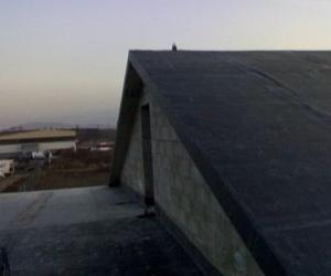 Impermeabilización de cubierta con lámina EPDM apto exteriores