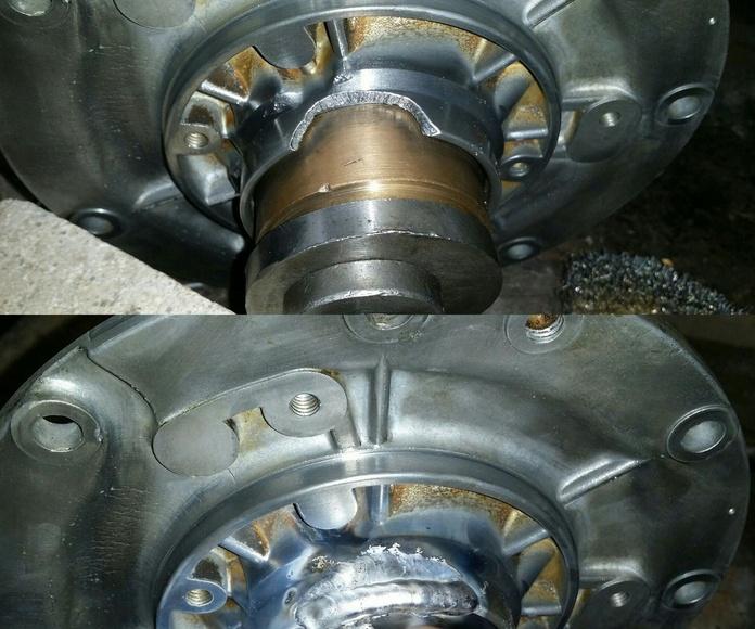 reparacion pieza motor para taller mecanico