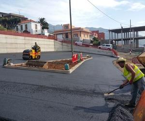 Asfaltado en Tenerife