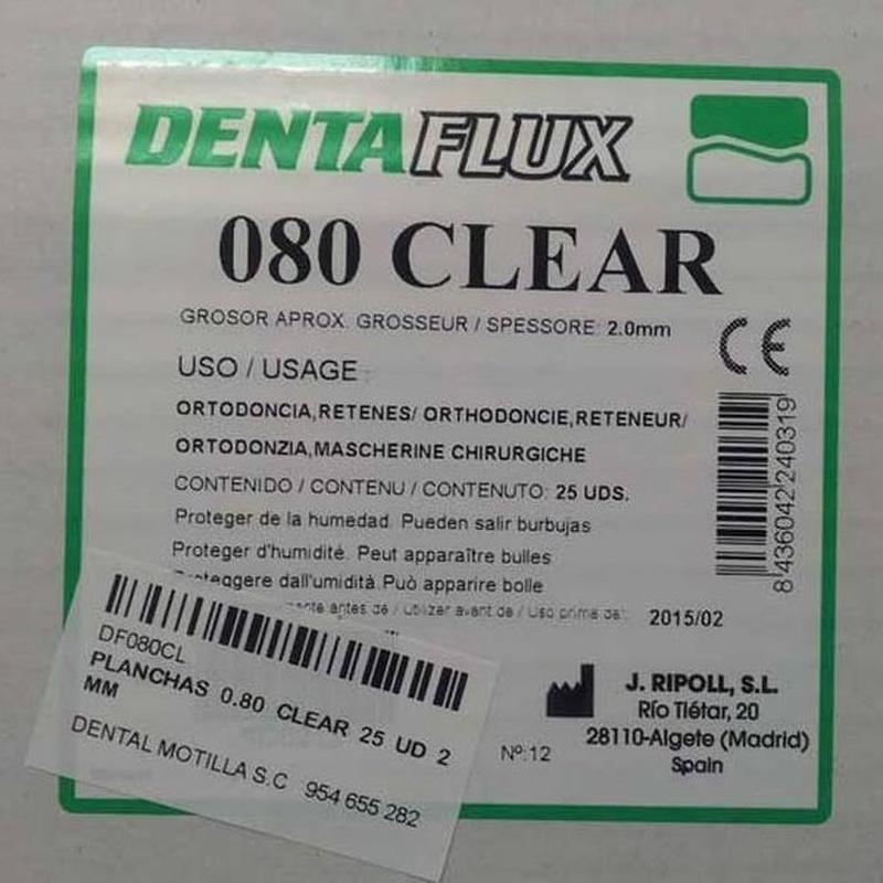 Placas termoformables: Tratamientos de Dental Motilla, S.L.