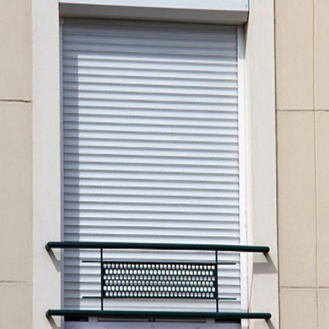 Tipos de persianas de seguridad (I)