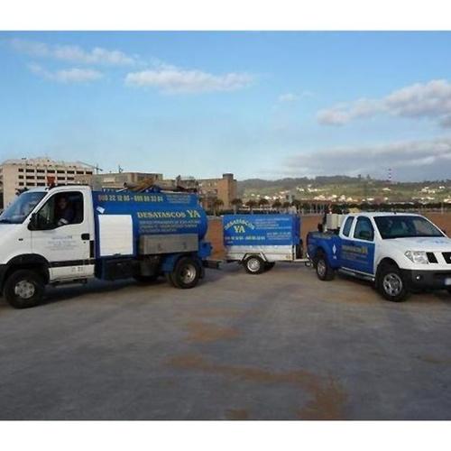 Limpieza de alcantarillado en Gijón