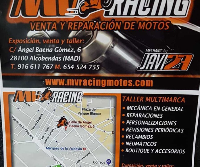 MV Racing motos