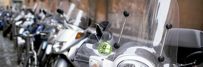 Distintivos ambientales, también para motos