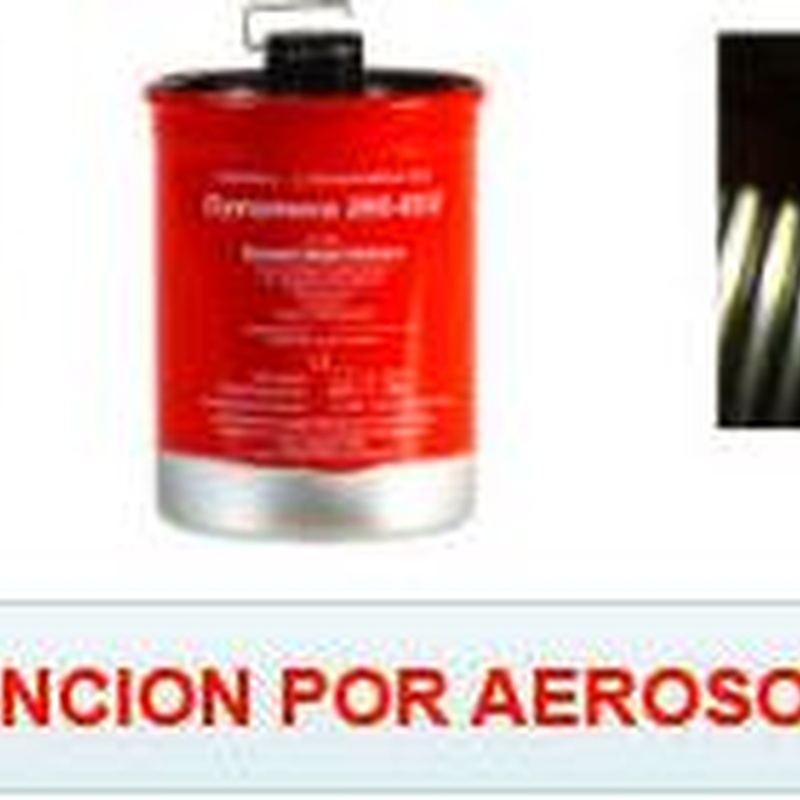 Extinción automática por aerosol: SERVICIOS  de Ignifugaciones Lotor S.L.