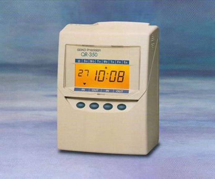 Relojes de presencia: Servicios de Pallás Campanas y Relojes
