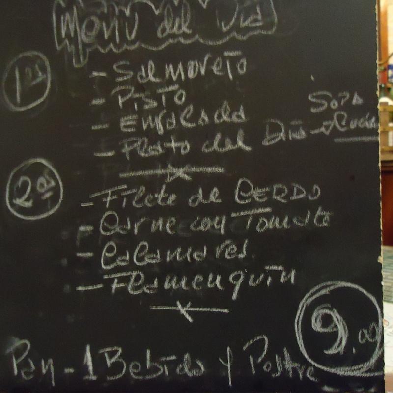 Menú diario, menú de temporada y menú degustación: Carta y menú de Restaurante Bar X