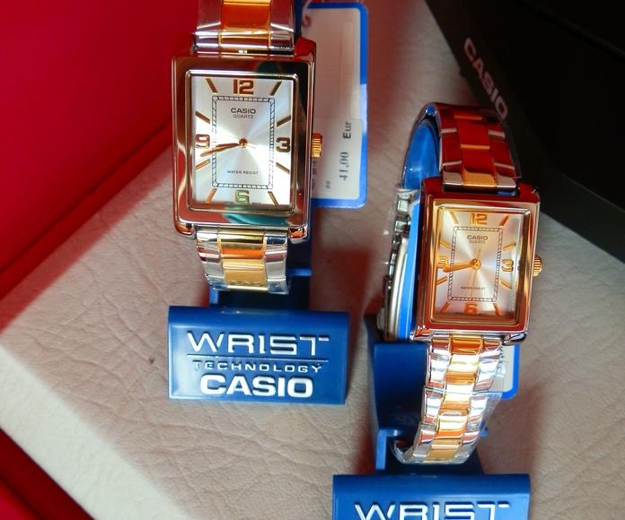 Casio Relojes.