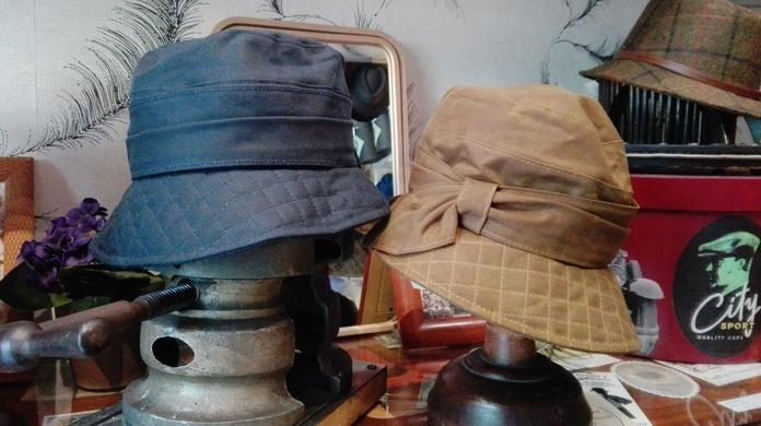 Sombrero de lluvia encerado: varios colores