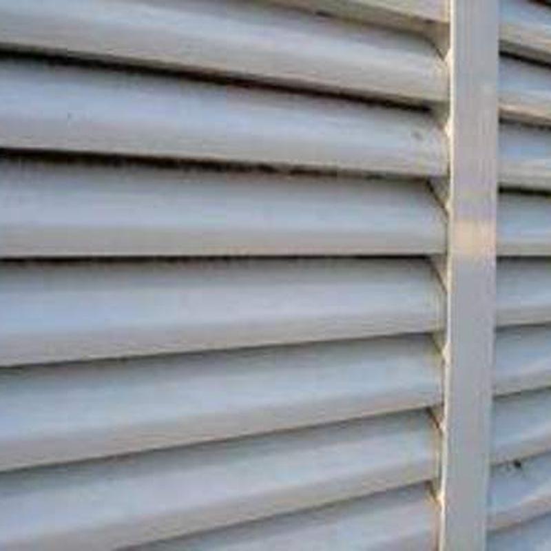 Rejas de ventilación: Catálogo de Metálicas de Mareo