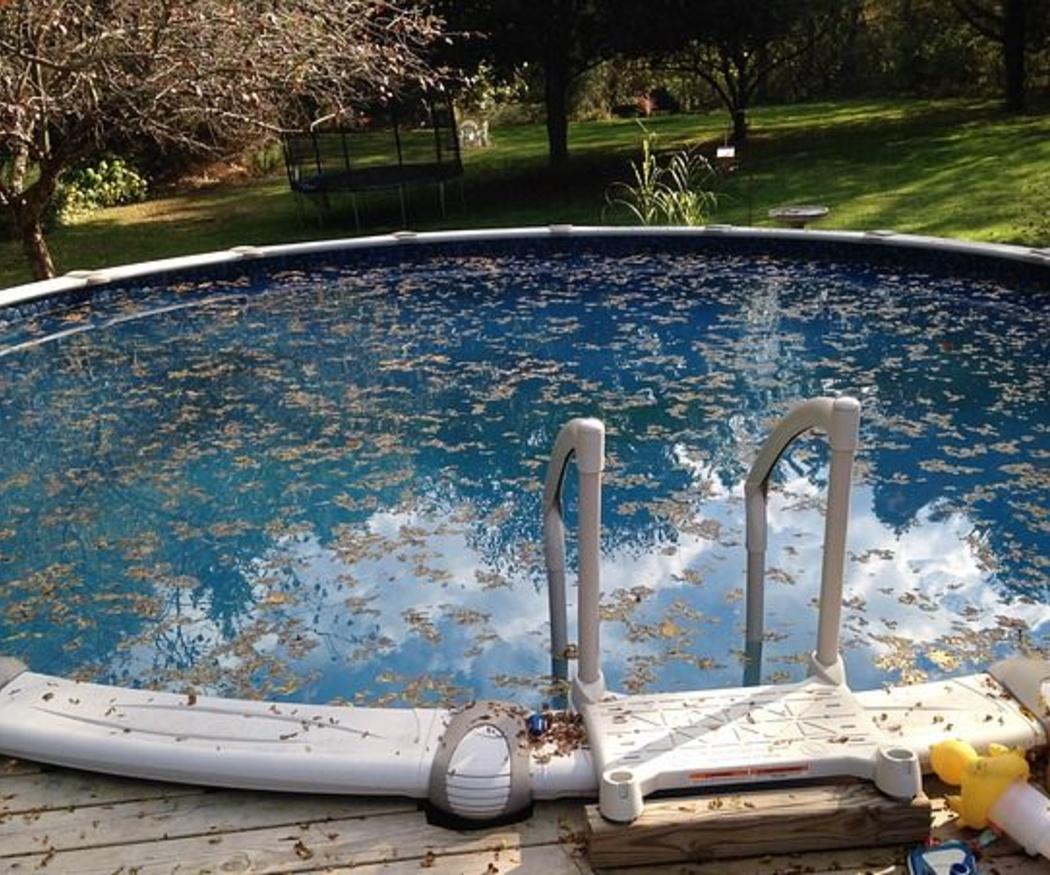 La limpieza de piscinas para el invierno