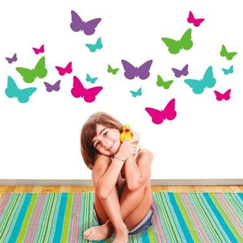 Wall sticker vinilo decorativo Butterflies Garden en Barcelona