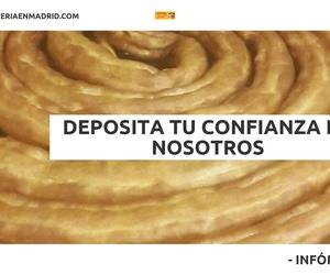 Churros con chocolate en Prosperidad, Madrid: Chocolatería Milagros, S.L.