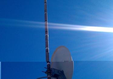 Antenas parabólicas y terrestres