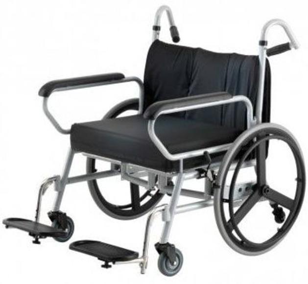silla ruedas bariátrica