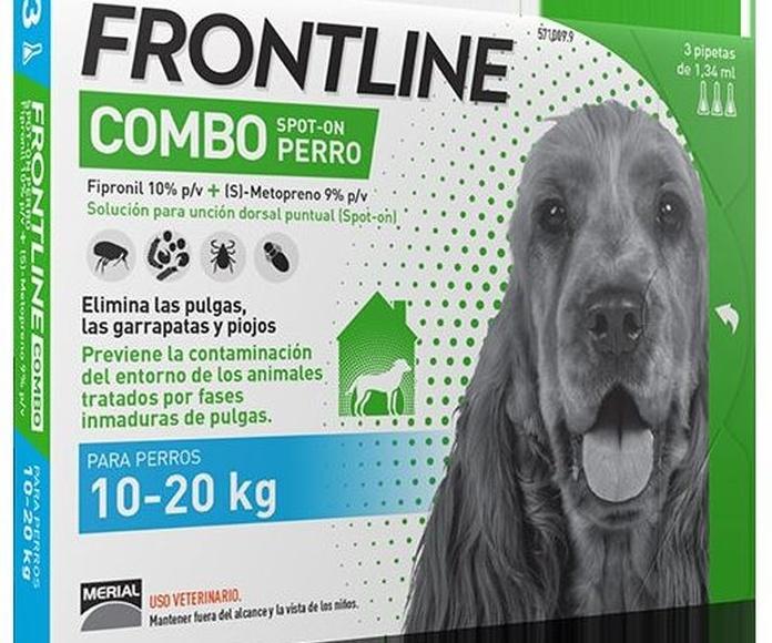 Frontline combo para perros