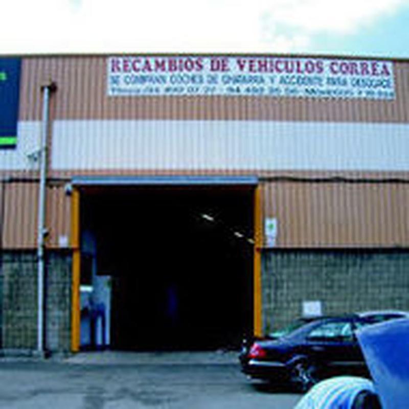Compra venta de vehículos para desguace