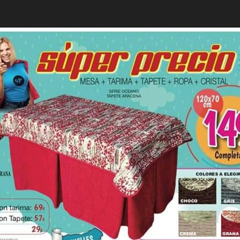 Mesas camilla: Productos y Ofertas de Don Electrodomésticos Tienda online