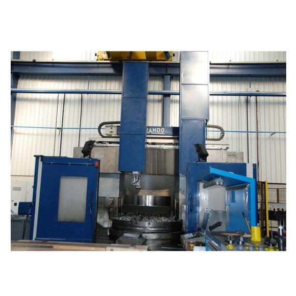 Torno Vertical Morando KN-20: Maquinaria de Mecanizados Vemar 2011, S.L.