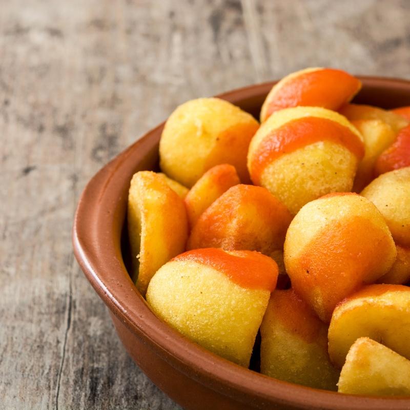 Patatas bravas: Menús de Restaurante Terraza La Parrilla de Valdemoro
