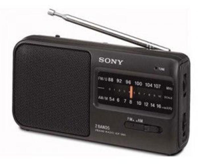 Radio portatil sony icf39: Catálogo de Probas