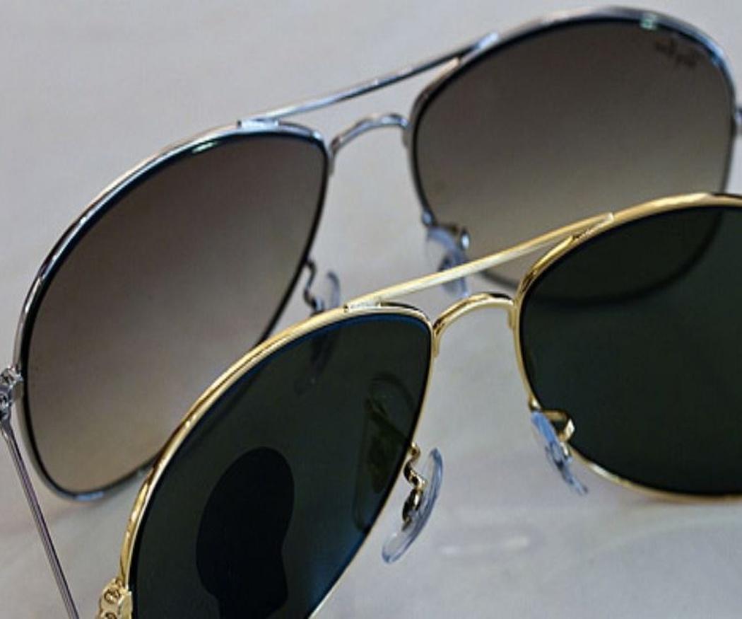 Tipos de cristales de gafas de sol