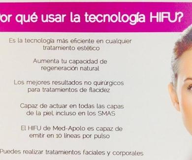 Por qué usar la tecnología HIFU