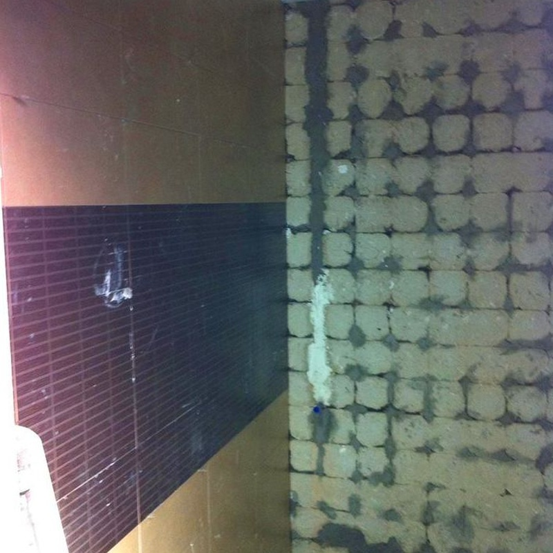 Baño en pladur.: Trabajos realizados de REFORMAS, INSTALACIONES Y CONSTRUCCION ARAGON
