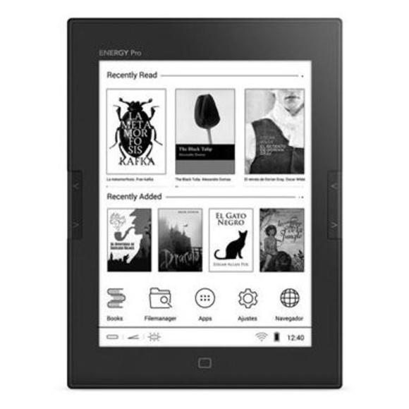 """Energy Sistem ebook eReader Pro HD 6"""" Táctil Luz: Productos y Servicios de Stylepc"""