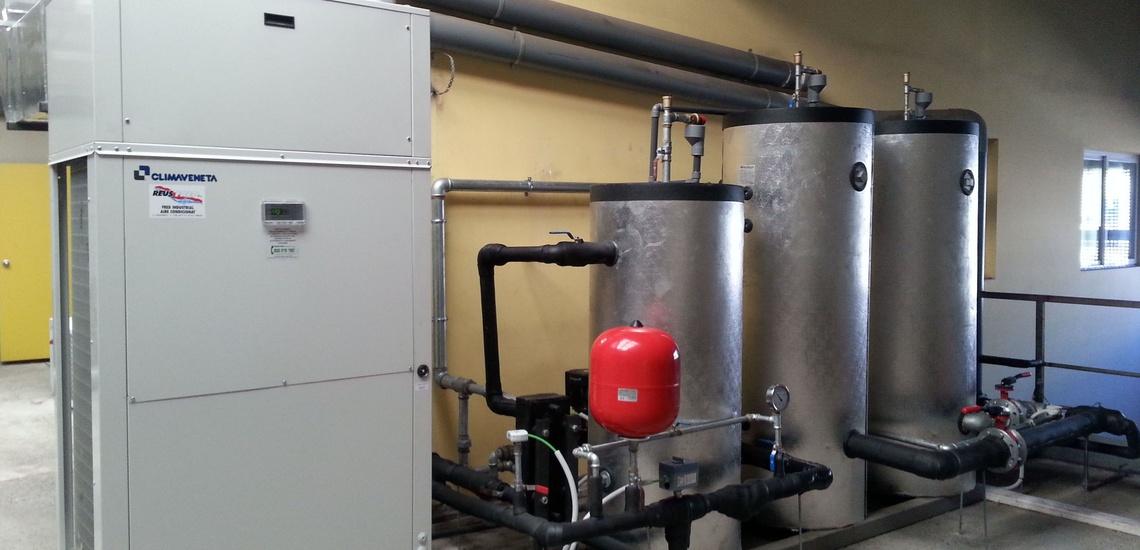 Ventilación industrial en El Vendrell