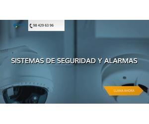 Instalación de alarmas en Gijón - Asepro