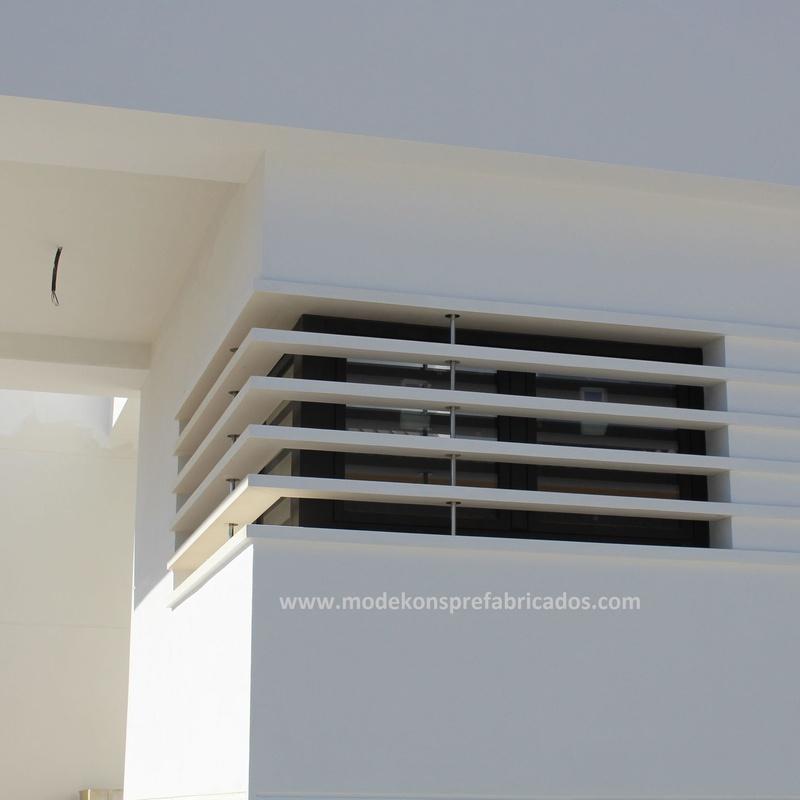 Fachadas de edificios: Productos y servicios de Modekons Prefabricados