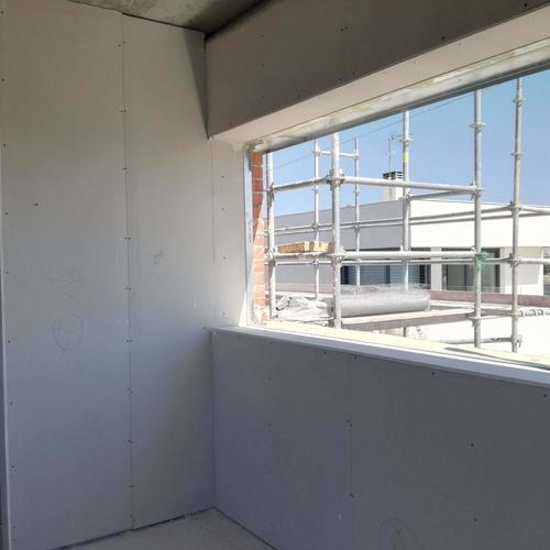 Obras a buen ritmo en vivienda unifamiliar en la Urbanización Los Fresnos de Boadilla del Monte