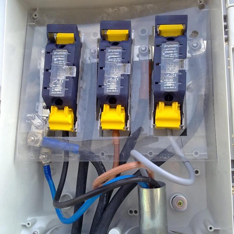 Caja General de Fusibles: Servicios de Jsp Electrotecnia, S.L.