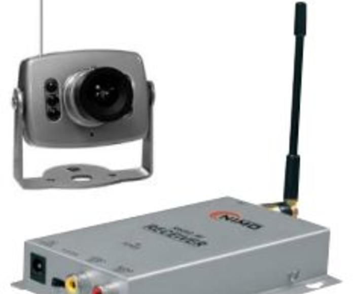 Cámaras de vigilancia color RF: Productos de Electrónica Praga