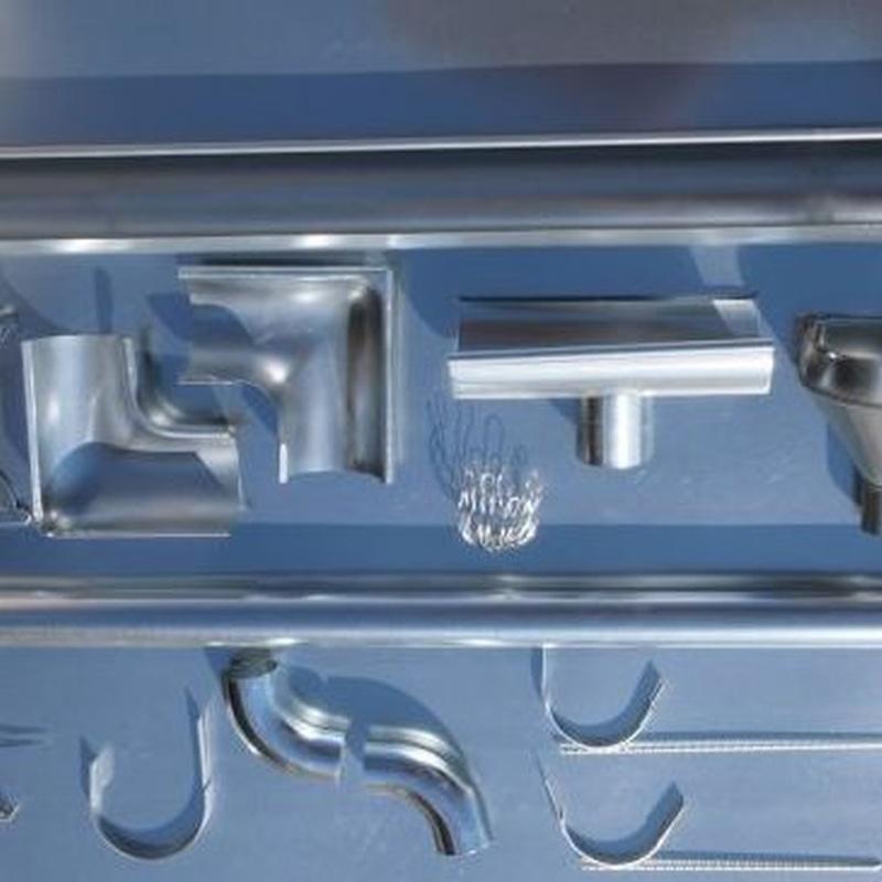 Canalón galvanizado: Productos de Ferretería Baudilio
