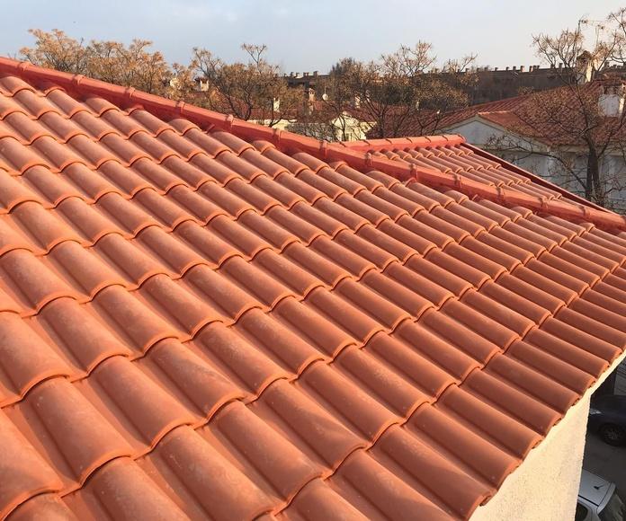 Retirada y sustitución de tejas en Brunete: Servicios de Reparaciones Te & Cu