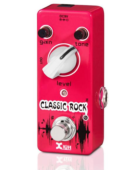 Pedal de guitarra XVive V1 Classic Rock