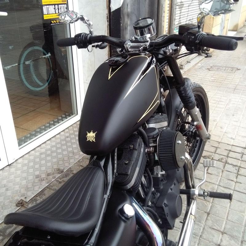 Custom, Harley Davidson Valencia, customizacion de motos en Valencia